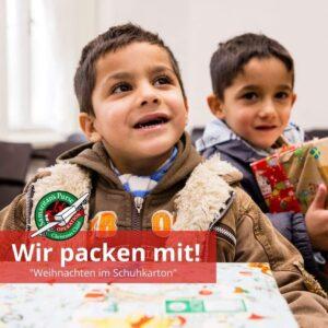 Read more about the article Sozialaktion – Weihnachten im Schuhkarton