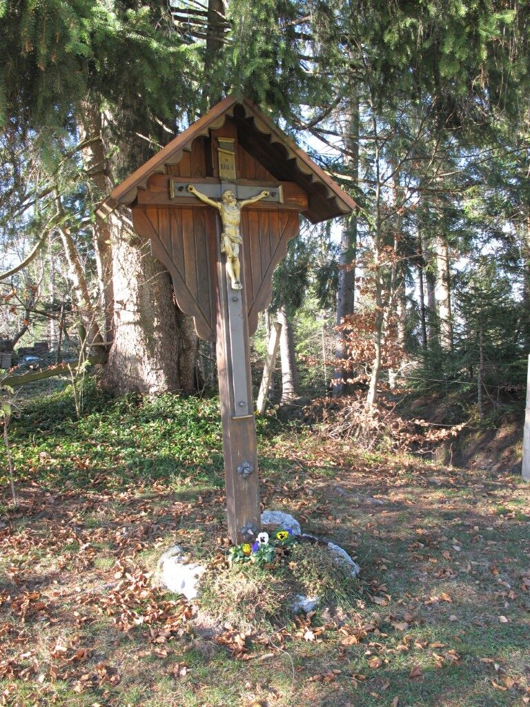 "Wegkreuz beim ""Hüsle am Wald"""