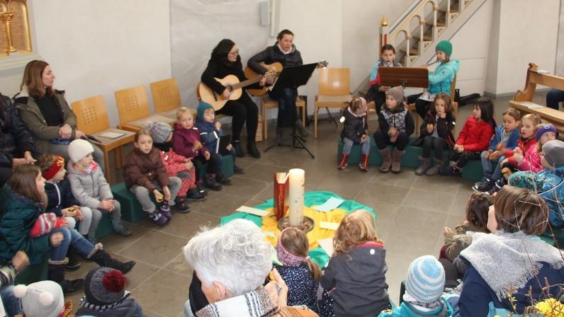Kinderkirche im Februar – Singend beten