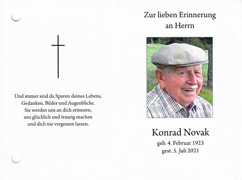You are currently viewing Konrad Novak – ein Steirer mit Sulzbergbezug